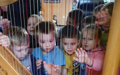 Koncert w przedszkolu w Ząbkach